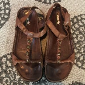 Earth Kalso Sandals Treasure size 9.5b brown boho